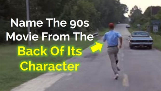 How many 90s movies can you name from seeing just the back of their characters?