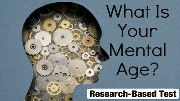 Find out what your mental age is, using this quiz based on scientific research.